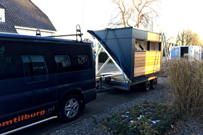 Dakkapel plaatsen voor badkamer in Tilburg Blaak