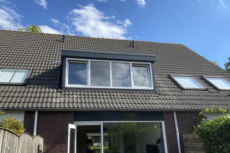 Dakkapel geplaatst woning Tilburg voor grotere zolder