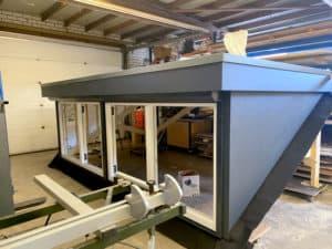 Prefab dakkapel voor project in Waalwijk