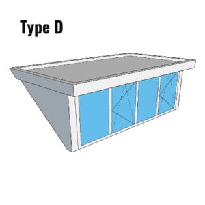 Type D Dakkapel Tilburg
